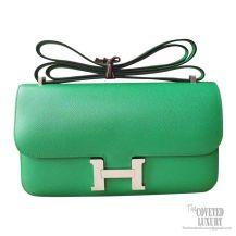 Hermes Constance Elan 25 Bag 1k Bambou Epsom PHW