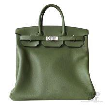 Hermes Birkin Hac 40 Bag V6 Canopee Clemence Calskin SHW
