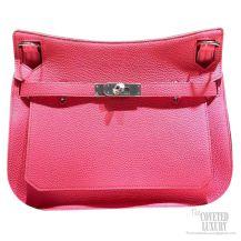 Hermes Jypsiere 28 Bag Rose Lipstick U5 Taurillon Clemence