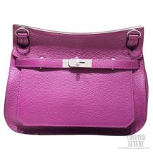 Hermes Jypsiere 28 Bag Anemone P9 Taurillon Clemence
