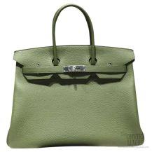 Hermes Birkin 35 cm Togo Bag Canopee V6 SHW
