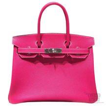 Hermes Birkin 35 Bag Rose Tyrien E5 Epsom SHW