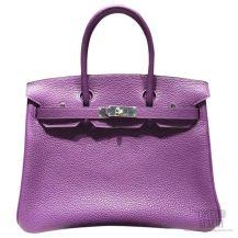 Hermes Birkin 35 Bag Ultraviolet 5L Togo SHW