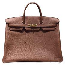 Hermes Birkin 40 Bag Marron D Inde CK4I Togo GHW
