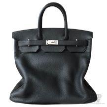 Hermes Birkin Hac 40 Bag Black Togo SHW
