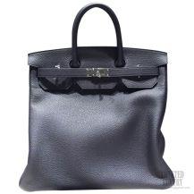 Hermes Birkin Hac 40 Bag Blue Indigo ck76 Togo SHW