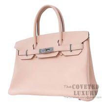 Hermes Birkin 30 Bag P1 Rose Eglantine Togo SHW