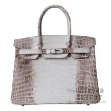 Hermes Birkin 30 Handbag Himalaya Niloticus SHW