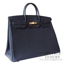 Hermes Birkin 40 Bag 89 Noir Togo GHW