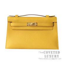 Hermes Mini Kelly I Bag 9D Ambre Epsom GHW