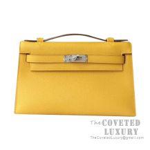Hermes Mini Kelly I Bag 9D Ambre Epsom SHW