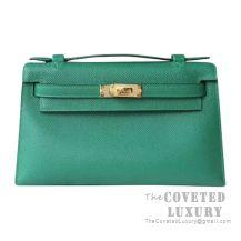Hermes Mini Kelly I Bag U4 Vert Vertigo Epsom GHW