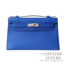 Hermes Mini Kelly I Bag I7 Blue Zellige Epsom SHW