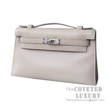 Hermes Mini Kelly I Bag 1F Argile Swift SHW