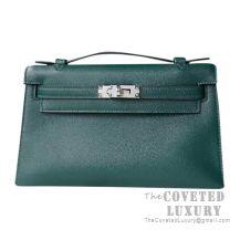 Hermes Mini Kelly I Bag 2Q Vert Anglais Swift SHW