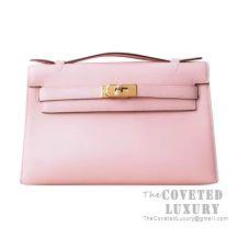 Hermes Mini Kelly I Bag 3Q Pink Sakura Swift GHW