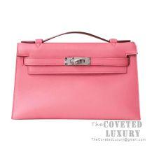 Hermes Mini Kelly I Bag U5 Bose Lipstick Swift SHW