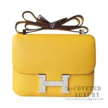 Hermes Constance 23 Bag 9D Ambre Epsom SHW
