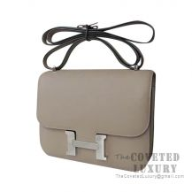 Hermes Constance 23 Bag M8 Gris Asphalt Epsom SHW