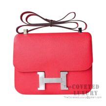 Hermes Constance 23 Bag S5 Rouge Tomate Epsom GHW