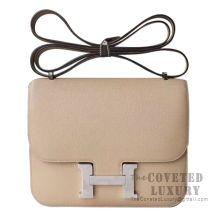 Hermes Mini Constance 18 Bag S2 Trench Epsom SHW