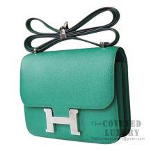 Hermes Mini Constance 18 Bag U4 Vert Vertigo Epsom SHW