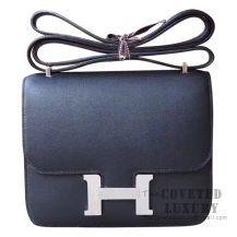 Hermes Mini Constance 18 Bag 89 Noir Swift SHW