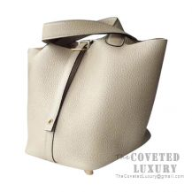 Hermes Picotin Lock 18 Bag S2 Trench Clemence GHW