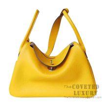 Hermes Lindy 26 Bag 9D Ambre Clemence SHW