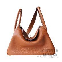 Hermes Lindy 26 Bag CC37 Gold Clemence SHW