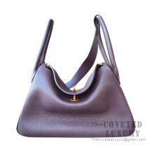 Hermes Lindy 26 Bag CC59 Raisin Clemence GHW