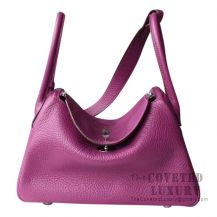 Hermes Lindy 26 Bag P9 Anemone Clemence SHW