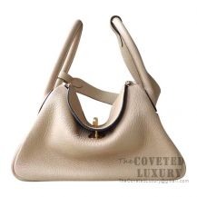 Hermes Lindy 26 Bag S2 Trench Clemence GHW