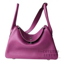 Hermes Lindy 30 Bag P9 Anemone Clemence SHW