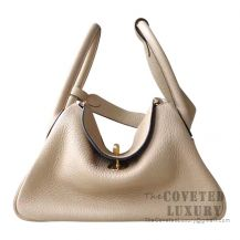 Hermes Lindy 30 Bag S2 Trench Clemence GHW