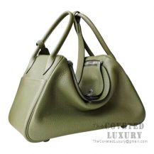 Hermes Lindy 30 Bag V6 Canopee Clemence SHW