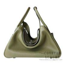 Hermes Lindy 30 Bag V6 Canopee Clemence SHW