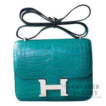 Hermes Mini Constance 18 Bag Z6 Malachite Matte Niloticus SHW